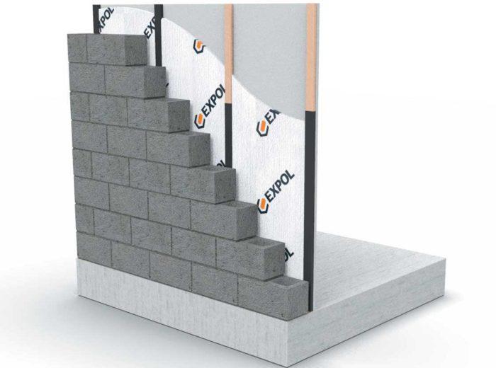 EXPOL Masonry Wall Insulation