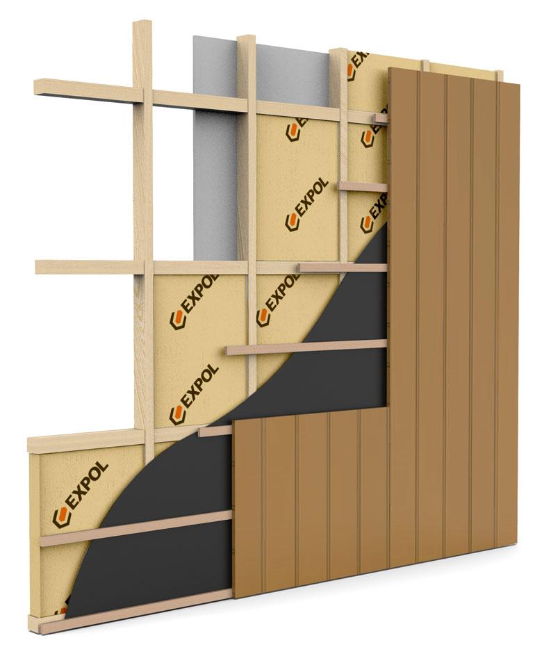 EXPOL timber wall insulation