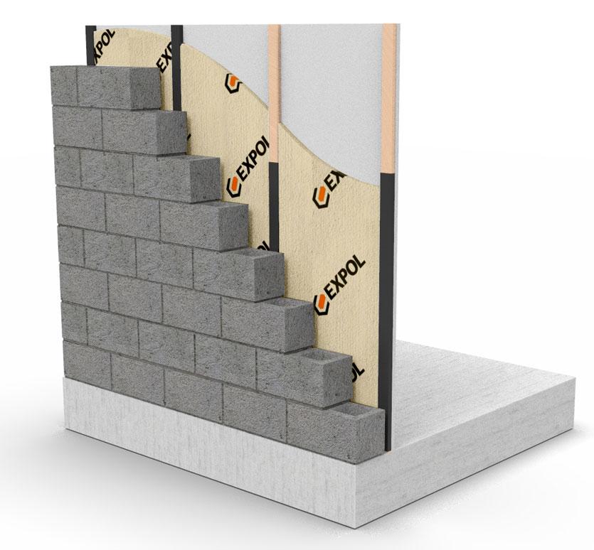 EXPOL Masonry Walls